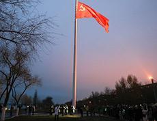 В Волгограде открыт Флагшток высотой 50 метров