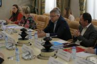 Рабочая встреча с представителями Дирекции парка «Патриот»